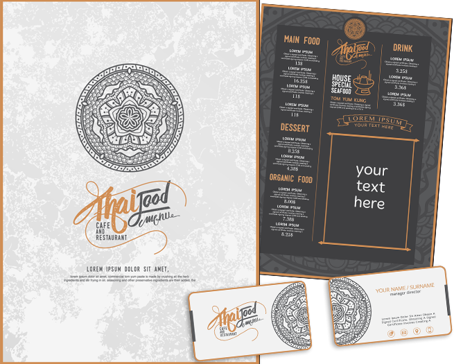 menu design bg